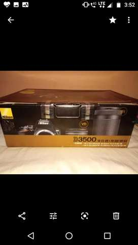 """NIKON D3500 for sell """"PRICE IS NEGOTIABLE"""""""