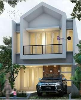 Jual Rumah Bisa pilih Desain Harga di bawah pasar Surabaya Timur