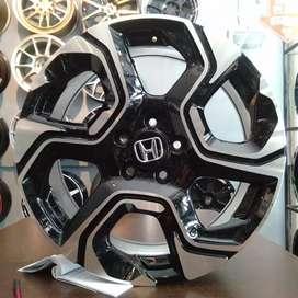 R18x7 H5x114.3 ET35.Velg CRV turbo.buat mobil CRV,hrv,brv.