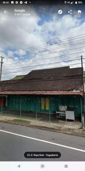 Dijual bangunan komersial cocok utk rumah makan