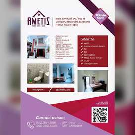 KOST AMETIS | @ametis_solo ~ your cozy home ~