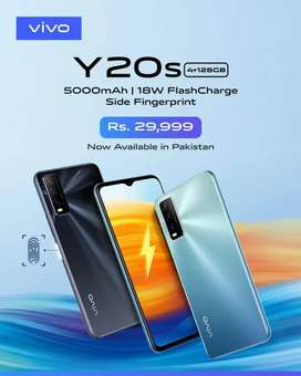 Vivo Y20s (4/128) Pin Pack