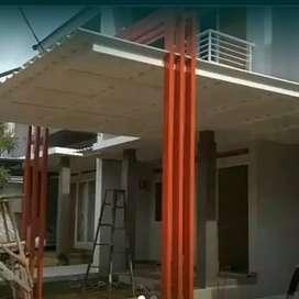 Kanopi minimalis galvalum pintu tralis balkon dll