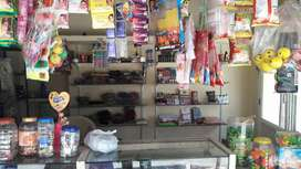 Fancy store furniture counter, glass& iron racks and display glassdore