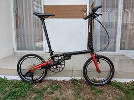 Fnhon Gust Black Red 2019 edition 10 speed