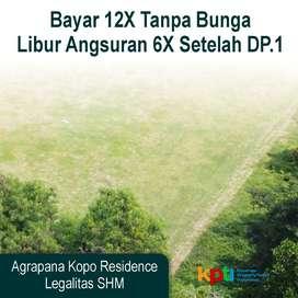 Tanah Kavling Eksklusif Kopo Bandung LD 7 meter: Angsur 12X