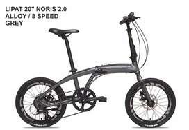 Sepeda lipat Pacific Norish 2.0