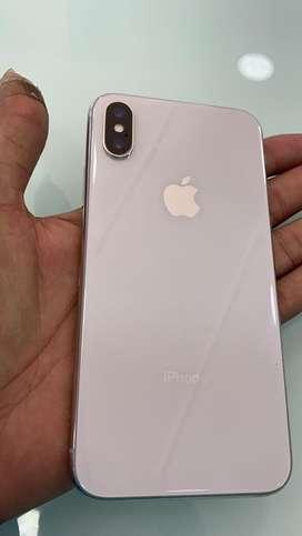 iPhone X64GB silver / Bill  box 100% warrny 6 months