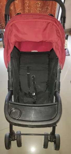 Stroller for baby.