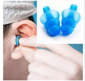 Earplugs for Adult Swimmers Children Diving Soft Anti-Noise Ear Plug