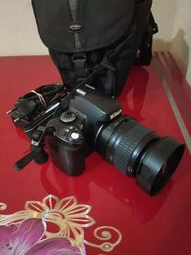 Di jual cepat kamera dslr Nikon D40 18-55mm
