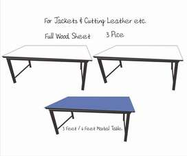Jacket Cutting Tables 3pice