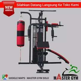 HOME GYM 3 SISI - Grosir Alat Fitness - Master Gym Store !! MG#9482
