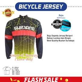 H1552 Baju Jersey Sepeda Best Quality Gratis Ongkir
