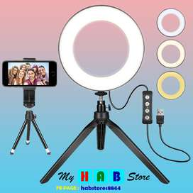 CAMERA RING LIGHT FOR PROFESSIONAL (LIVE STREAMING AND YOUTUBE VIDEO)
