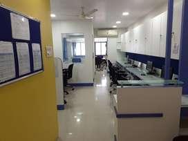 Furnished office on lease/rent in belapur, navi mumbai