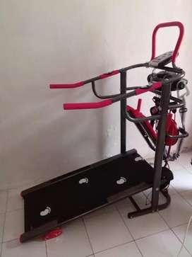 Two function PLATINUm bike Hitam merah