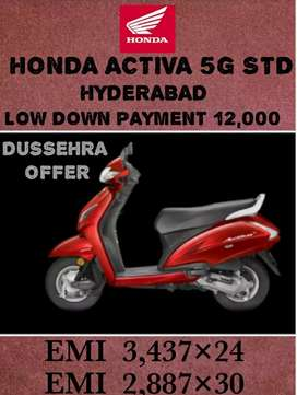 ACTIVA 5G STD LOW DOWN PAYMENT