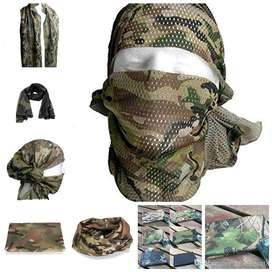 Scarf Camouflage Infinity Mesh