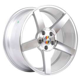 HSR-Ne3-50783-Ring-18x8-9-H5x112-Et40-35-Silver-Machine-Face