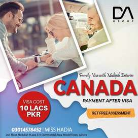 APPLY FOR CANADA FAMILY VISA WITH ONLY EMBASSY FEE.