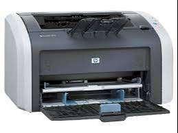 printer and cpu
