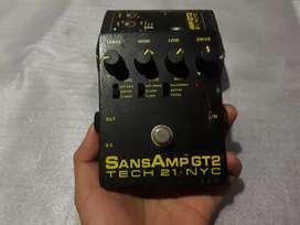 SansAmp GT 2 efek gitar amp simulator