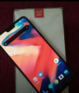 Well maintained one plus 6  8/128 gb