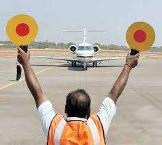 job in airport of aviation in ground staff