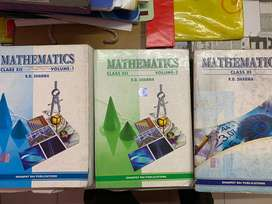 RD Sharma (11th & 12th) Mathematics books