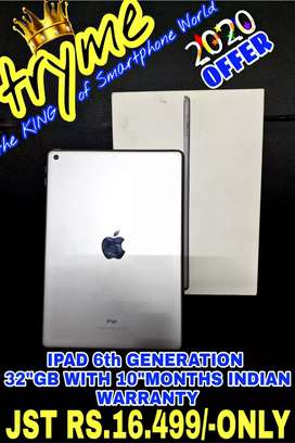 TRYME 32Gb IPAD 6th Generation With 10Months indian Warranty