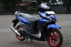 Vario 150 Th 2016 Biru Mulus Lengkap Tinggal Gas