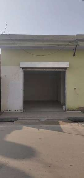 Shop and godown for rent