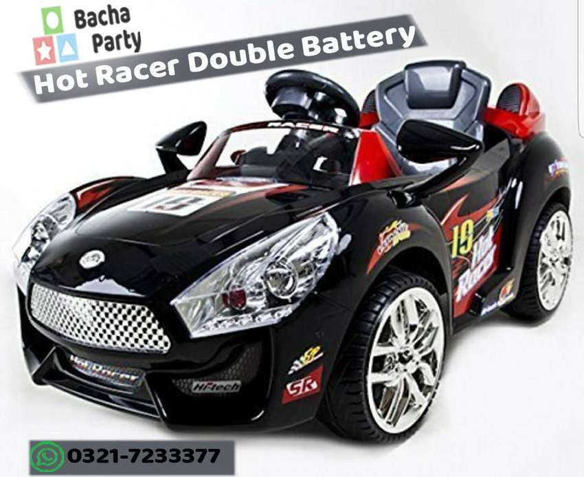 Hot Racer Battery Operated kids Electric Car - Kids Rechargebale Car