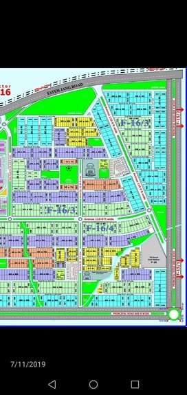 10 marla plot in F16 sector islamabad