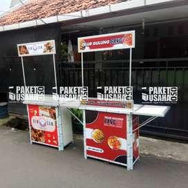 *Dijual Booth Portable / Meja Lipat / Booth *makanan* = cumi asin
