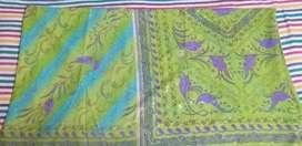 Silk saree used twice