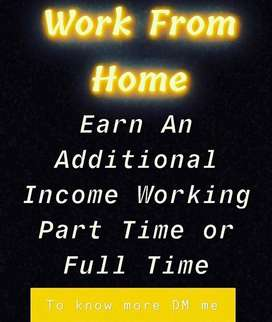 EARN WHAT YOU WORTH- WORK FROM HOME