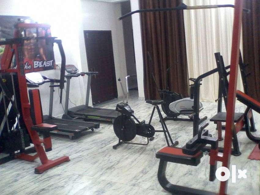 Gym ka new material aj hi contact kijiye call 0