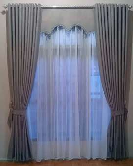 minimalis gorden curtain vitrase gordyn gordeng hordeng 099