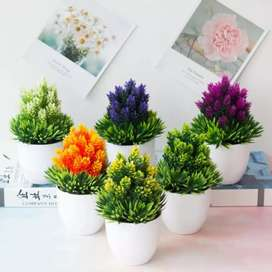 Bunga tanaman hisa plastik B bonsai