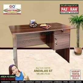Meja kerja,meja kantor,meja tulis, meja belajar murah dan bagus bs krm