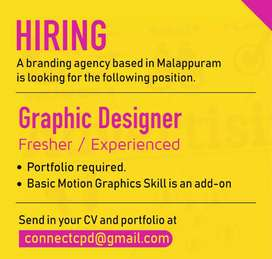 Looking for a Graphic Designer