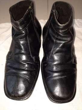 Sepatu pria bot no 39 kulit asli handmade