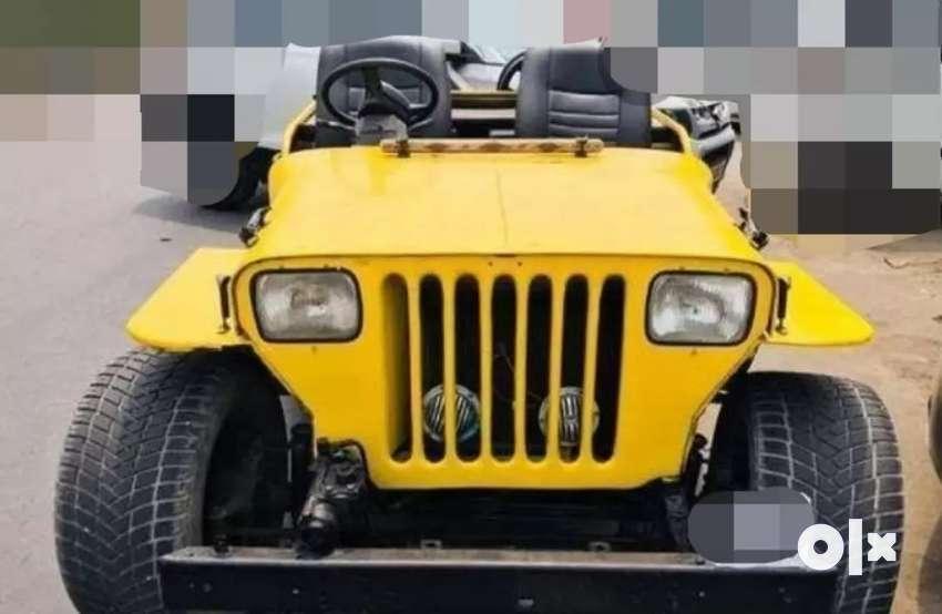 Modified mahindra jeep 0