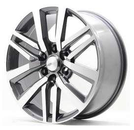 JUAL pelek mobil ring20x9 H6X13 untuk mobil fortuner dan pajero sport