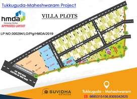 HMDA APPROVED VILLA PLOTS AT TUKKUGUDA-MAHESHWARAM