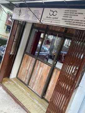Semifurnished shop for rent at dongre nagar kausa