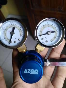 Regulator co2 dual gauge azoo