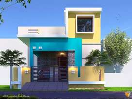 2bhk individual house available very cheap price 1275000rs